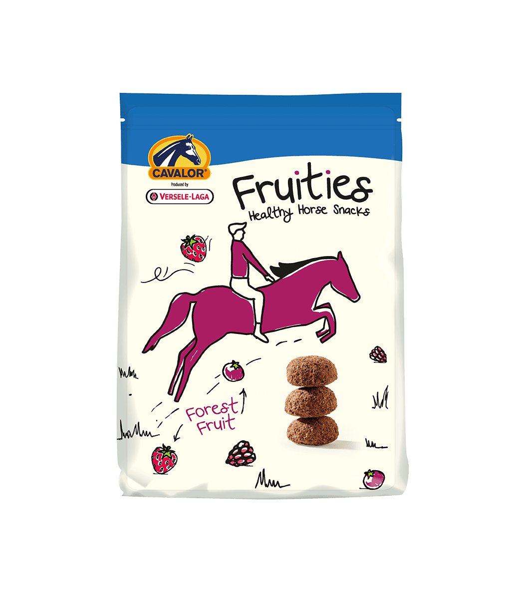 Cavalor FRUITIES 750gr - frutti di bosco