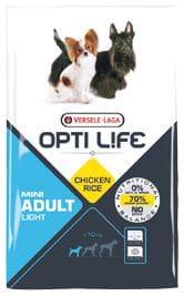 Opti Life ADULT LIGHT Mini 7,5 kg - Pacashop - Ushuaia Vet di Andrea Ancillotti