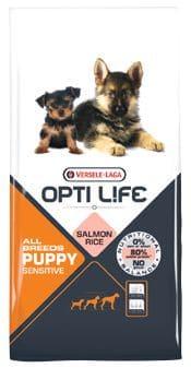 Opti Life PUPPY Sensitives 2,5 kg - Pacashop - Ushuaia Vet di Andrea Ancillotti