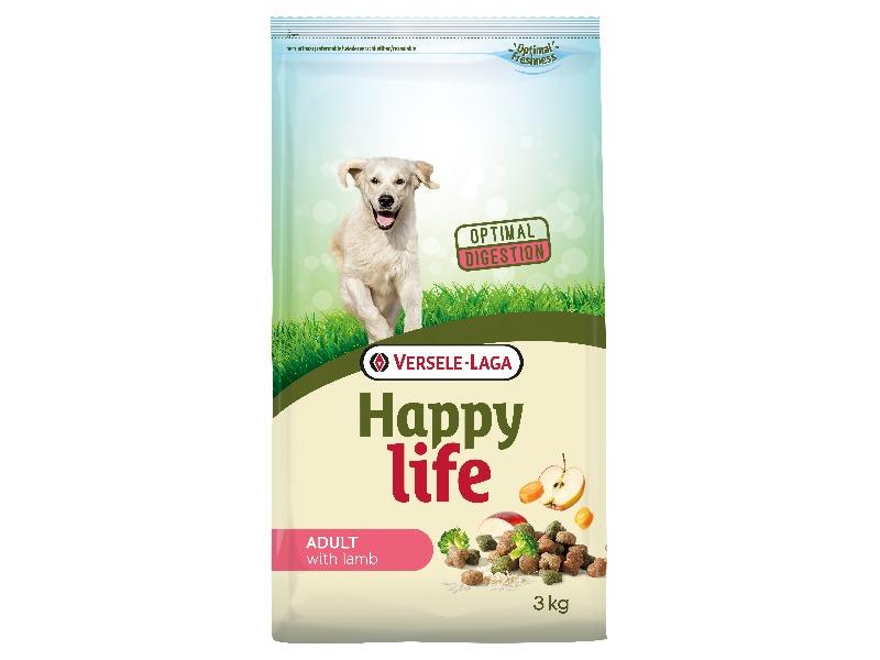 Happy Life Adult Lamb 3kg - Pacashop - Ushuaia Vet di Andrea Ancillotti