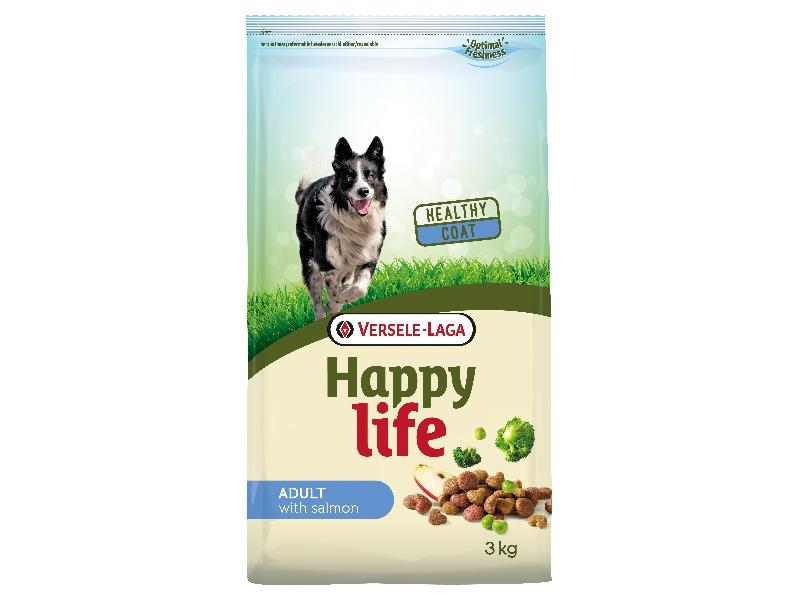 Happy Life Adult Salmone 3 kg - Pacashop - Ushuaia Vet di Andrea Ancillotti