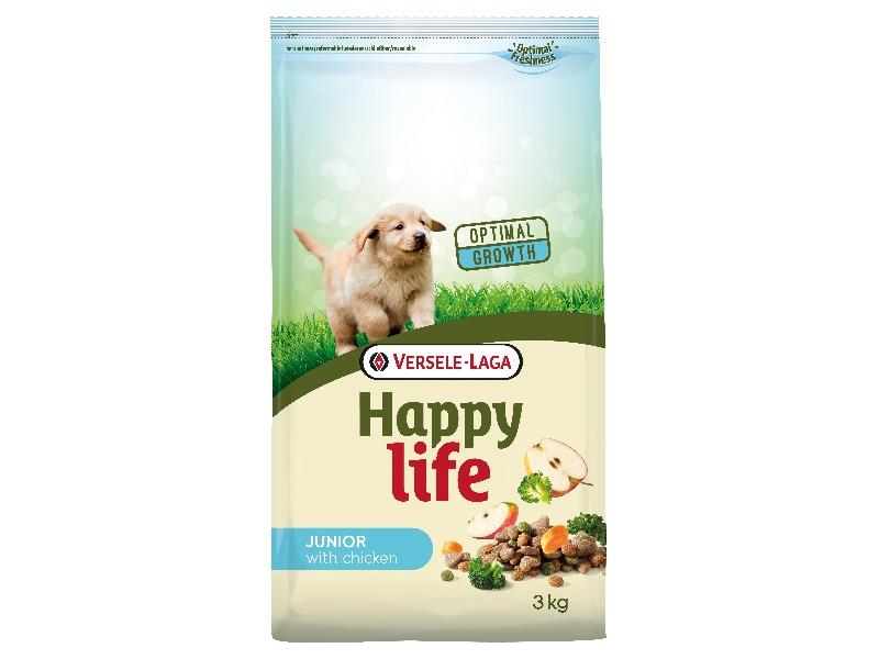Happy Life Junior Chicken 3 kg - Pacashop - Ushuaia Vet di Andrea Ancillotti
