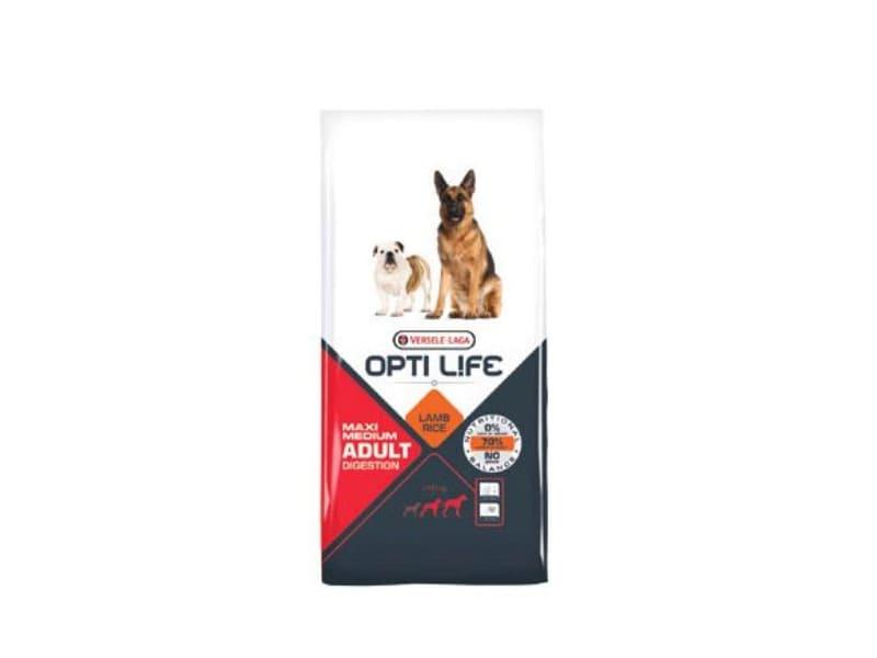 Opti Life ADULT DIGESTION Medium & Maxi 12,5 kg - Pacashop - Ushuaia Vet di Andrea Ancillotti