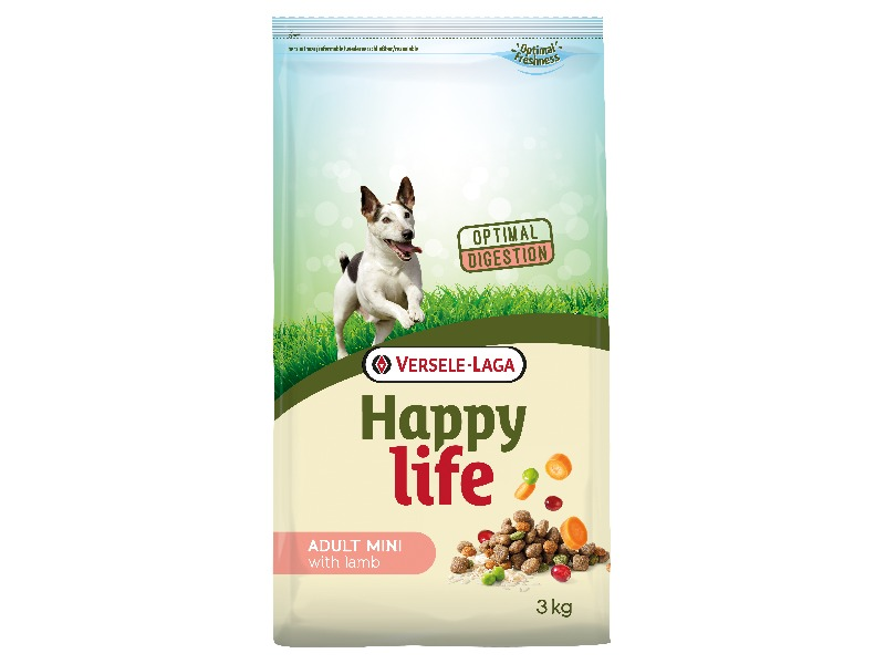 Happy Life Adult Mini Lamb 3 kg - Pacashop - Ushuaia Vet di Andrea Ancillotti