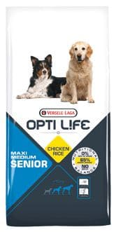 Opti Life SENIOR Medium & Maxi 12,5 kg - Pacashop - Ushuaia Vet di Andrea Ancillotti