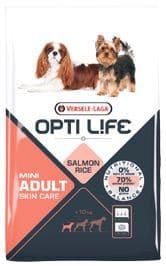 Opti Life ADULT SKIN CARE Mini 2,5 kg - Pacashop - Ushuaia Vet di Andrea Ancillotti